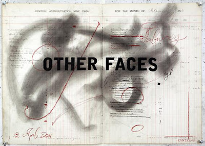 William Kentridge Drawing for 'Other Faces', 2011 charcoal and coloured pencil on paper 70 x 66.5 cm