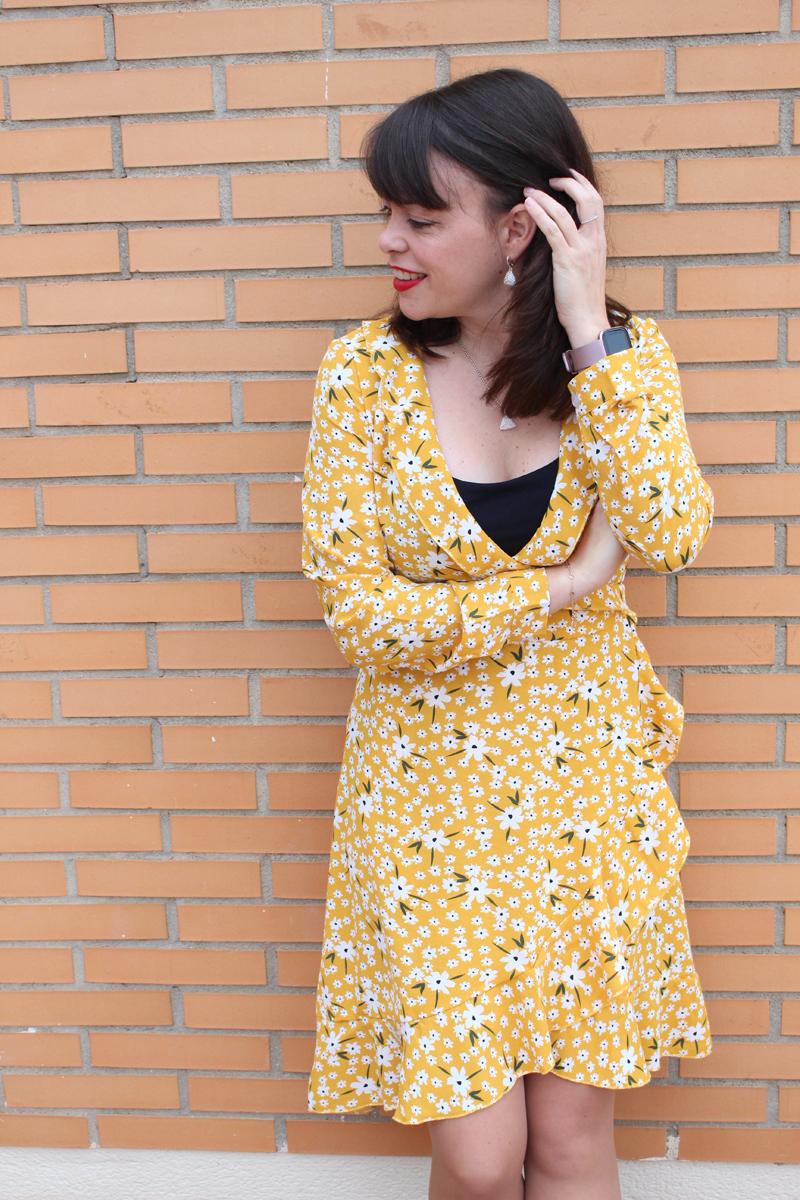 Yellow dress