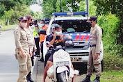 Gencar Bebaskan KLU Dari Covid-19 Tim Satgas Kebut Ops Yustisi