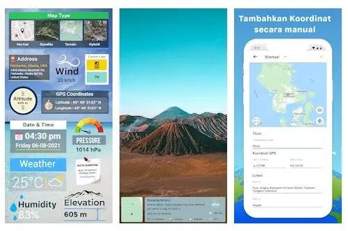 GPS Map Camera - Aplikasi Kamera Terbaik dengan Geotagging