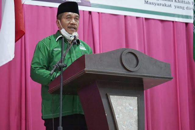 Dihadiri Wabup Asahan, Ketua PW Al-Washliyah Sumut Melantik PD Majelis Lembaga Al-Washliyah Kabupaten Asahan