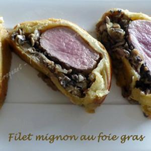 Filet Mignon au Foie Gras - Croquant Fondant Gourmand