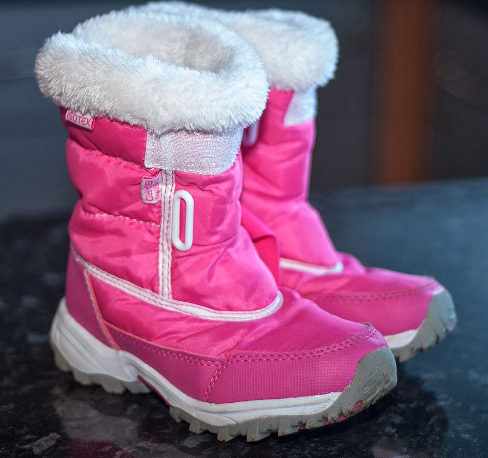 Regatta, Isotex, Pink Snow boots for kids (Size 11)