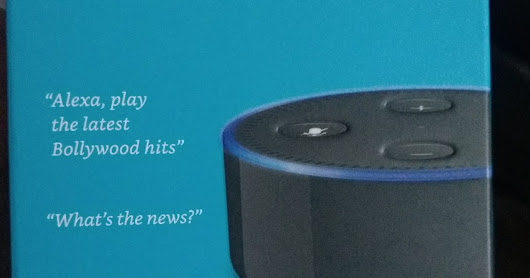 A Month With Amazon Echo Dot.