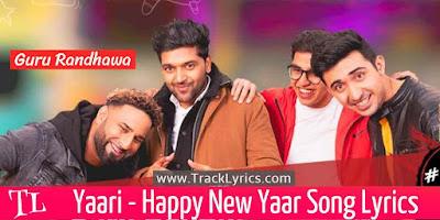yaari-happy-new-yaar-guru-randhawa