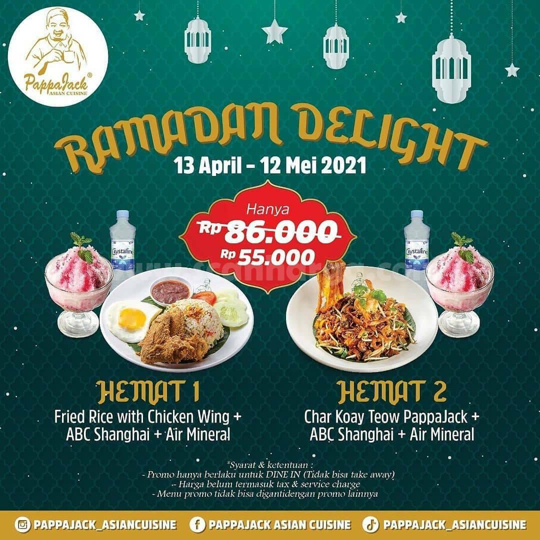 Pappajack Ramadan Delight Promo Paket Ramadan Hemat hanya 55K