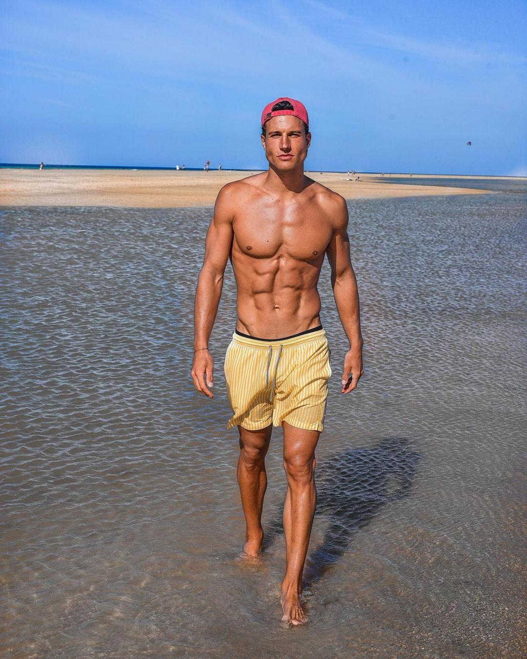 fit-shirtless-male-model-torben-konig-abs-beach-day-hunk