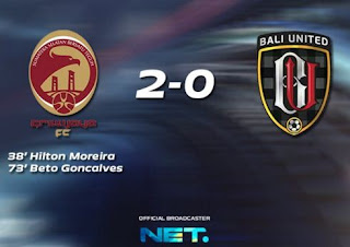 Sriwijaya FC vs Bali United 2-0