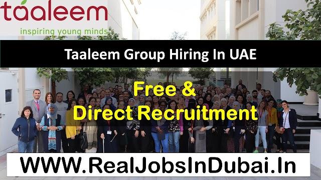 Teaching Jobs In Dubai By Taaleem Careers - 2020