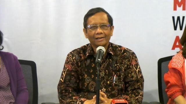 Mahfud Minta Polri Hati-hati soal Tahanan Kota Ratna