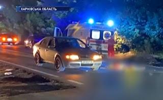 На Харківщині швидка допомога, що везла пацієнта до лікарні, збила жінку