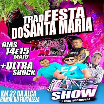 CD - AO VIVO ( CARRETA LIVE )SHOW EM SANTA MARIA 2016