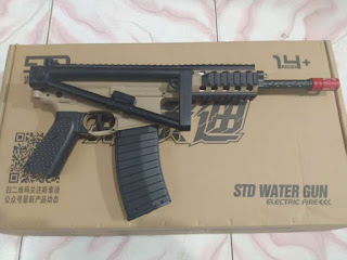 Review Unit Water Gel Gun (WGG) M4 PDW