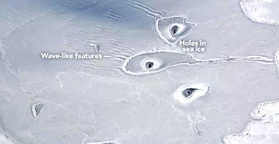 Enigma do Ártico - Nem a NASA sabe o que são os misteriosos círculos no gelo - Capa