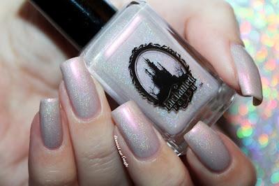 "Swatch of the nail polish ""J'adore"" from Enchanted Polish"