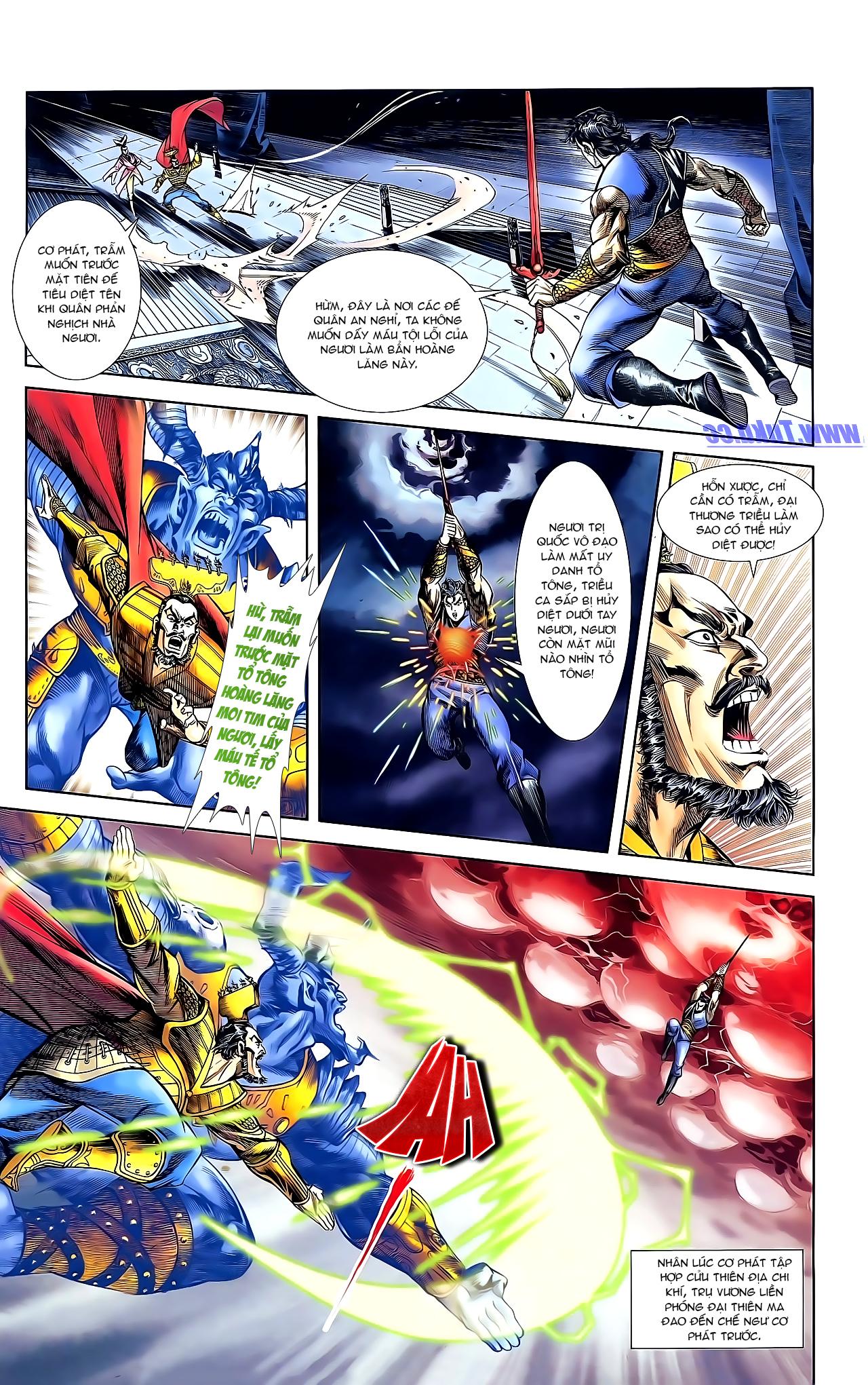 Cơ Phát Khai Chu Bản chapter 161 trang 4
