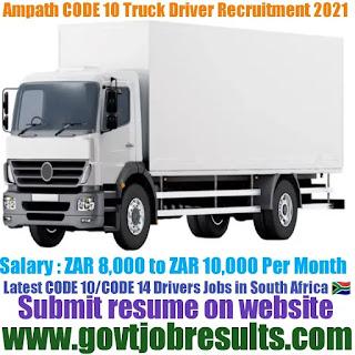 Ampath Code 10 Driver Recruitment 2021-22