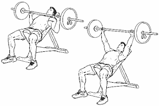 2. Smith Machine Incline Bench