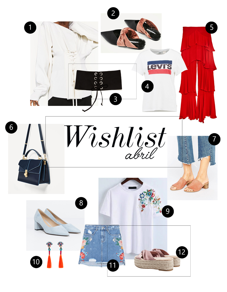 wishlist de prendas abril 2017