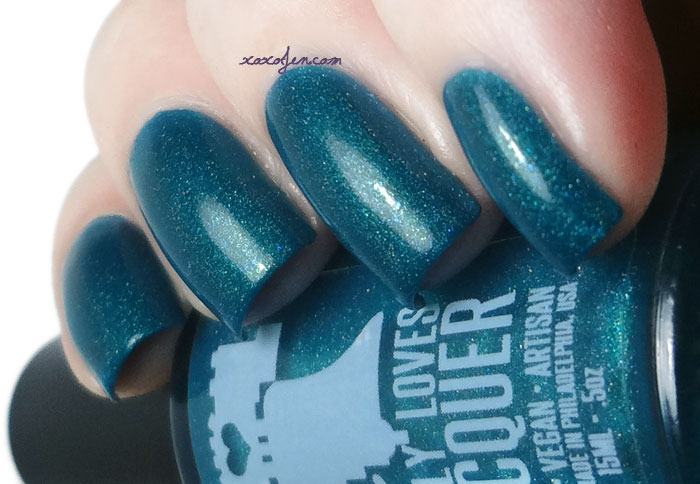 xoxoJen's swatch of Philly Loves Lacquer - Rain Boots and Puddles