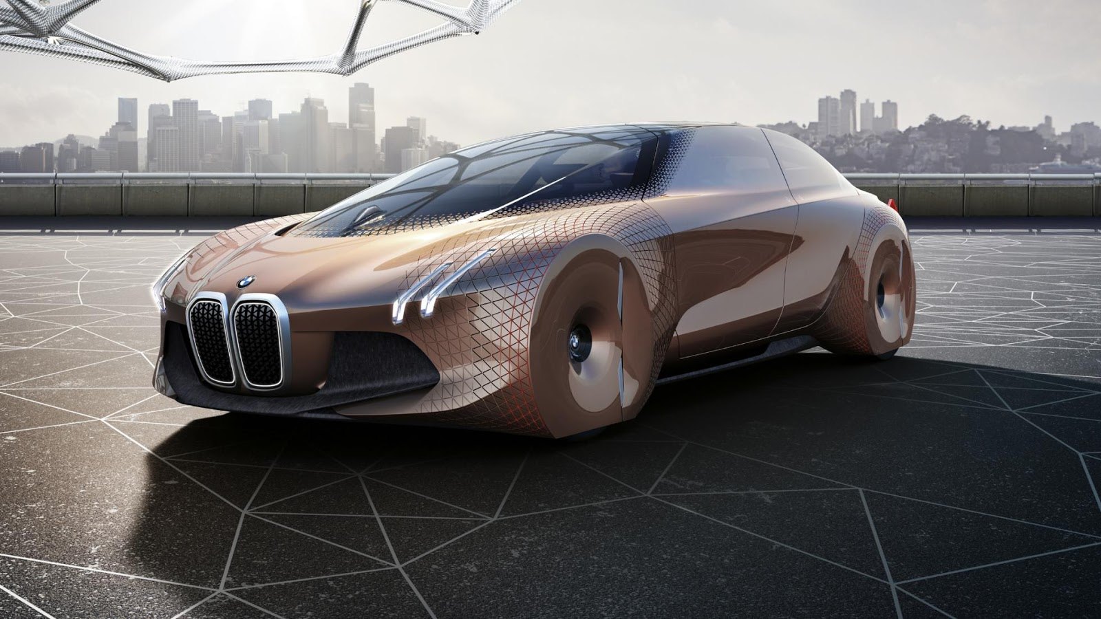 Tiết lộ BMW 'Vision Next 100' concept 100 năm nữa