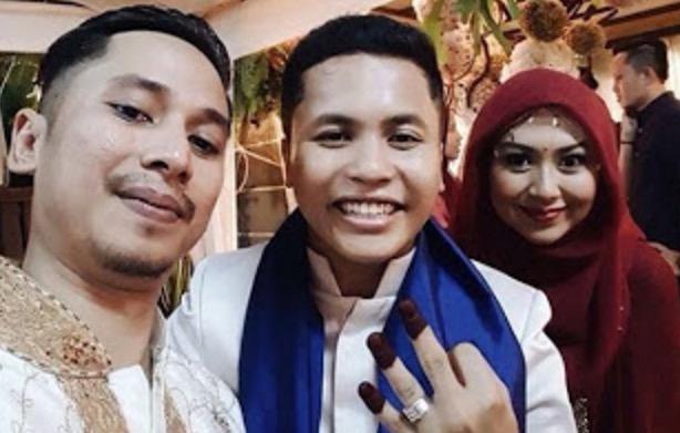 Sekitar Majlis Perkahwinan Hafiz Suip Dan Isteri