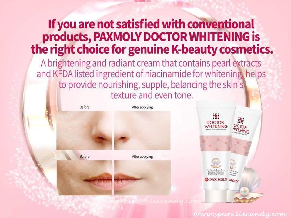 Картинки по запросу PAXMOLY Doctor Whitening Cream