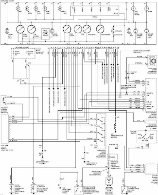Chevrolet Camaro 1997 Instrument Cluster Wiring Diagram