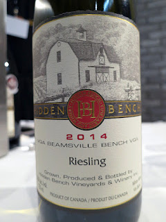 Hidden Bench Estate Riesling 2014 - VQA Beamsville Bench, Niagara Peninsula, Ontario, Canada (90 pts)