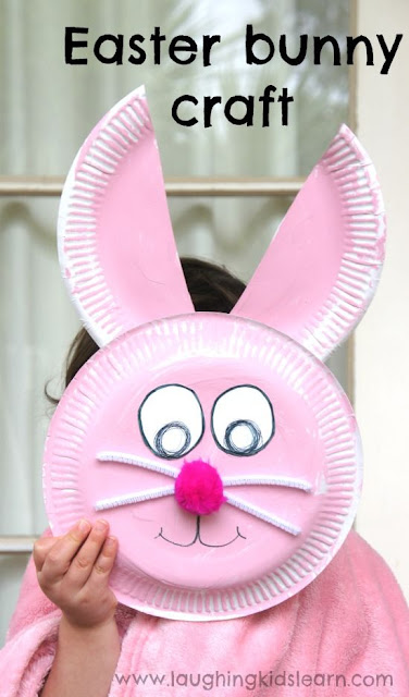 easter, crafts, kids, paper plate crafts, bunny crafts