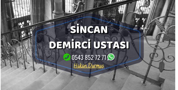 Ankara Sincan Demirci Merdiven Demiri - Ferforje Demir - Balkon Demiri - Bahçe Demiri