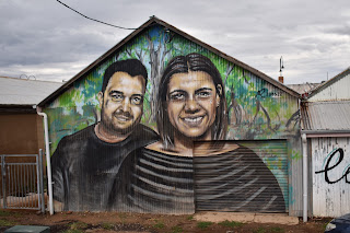 Street Art in Wagga Wagga by Reubszz