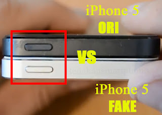 Perhatikan Tombol Power iPhone 5