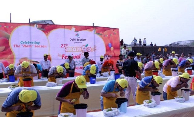 The International Mango Festival inwards Delhi celebrates the delicious tropical fruit International Mango Festival inwards Delhi 2016: Celebration the King of Fruits