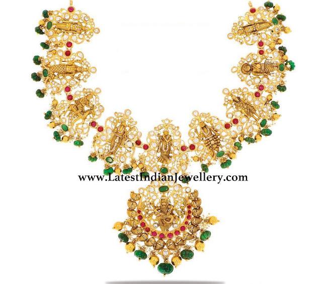 Dasavataram Necklace from Manepally