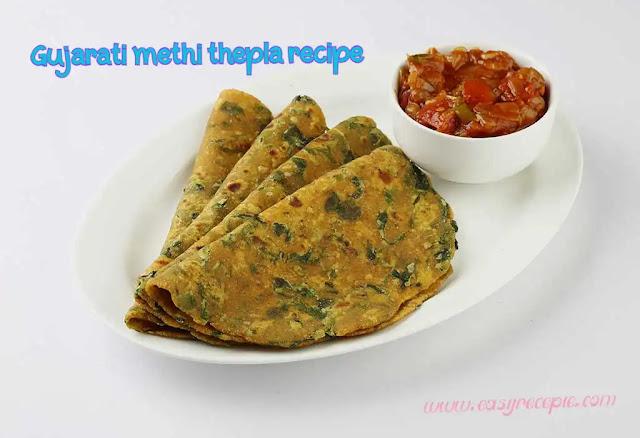 Delicious Gujarati methi thepla recipe at home