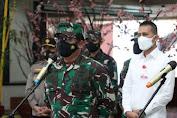 Panglima TNI Tinjau Fasilitas Isoter Pasien OTG Covid-19
