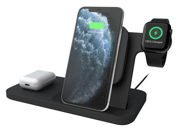 Logitech Powered 3-in-1 Wireless Dock For Your iPhone Apple Watch AirPods
