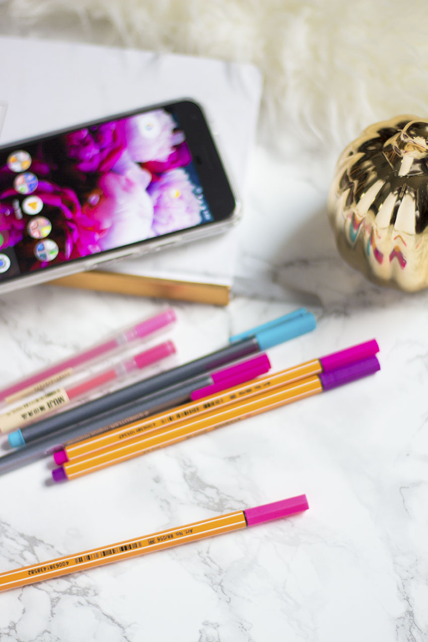 the best pens for planners and agendas, cute back to school supplies