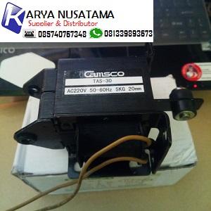 Jual Selenoid Valve Tarik TAS-30 (5KG) Camsco 220V di Pasuruan