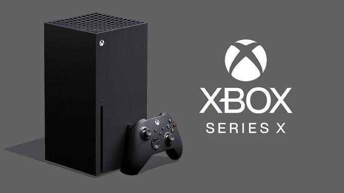 Sorteio de um Xbox Series X