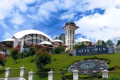 Kisah 2 Orang Pemuda Dibalik Megahnya Masjid Atta'awun Cisarua Puncak Bogor