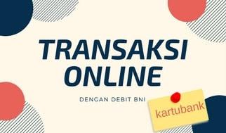 belanja online dengan debit bni