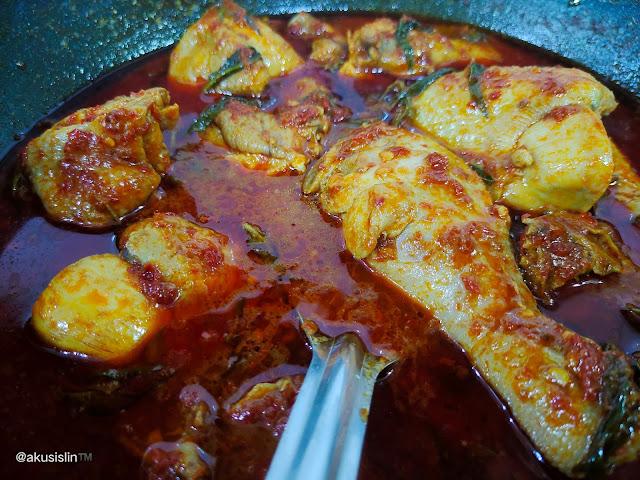 Masak Asam Pedas Ayam Di 9 Syawal