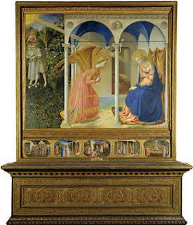Fra Angelico - La Anunciación