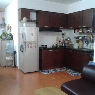 nhà bếp chung cư tân mai 1 phòng ngủ quận bình tân