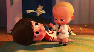 Escena de El bebé jefazo