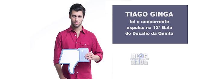 Tiago Ginga foi o concorrente expulso na 12ª Gala do Desafio - Resultados Oficiais vs Sondagens