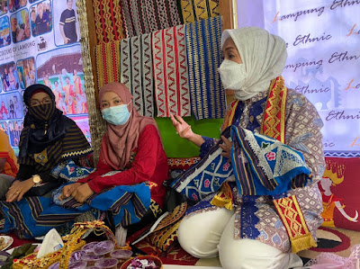 Dwita Ria Serap Aspirasi Pelaku Ekraf di Lampung Timur