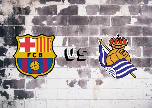 Barcelona vs Real Sociedad  Resumen y Partido Completo